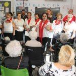 Actuación del Coro en la Residencia de San Luis