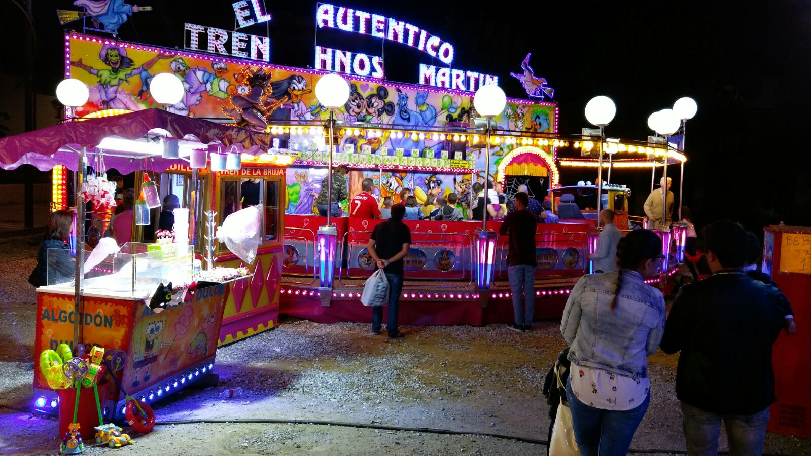 Atracciones de la Fiestas de la Divina Pastora